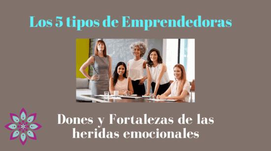 Emprendedoras con heridas y sus Fortalezas en los Negocios