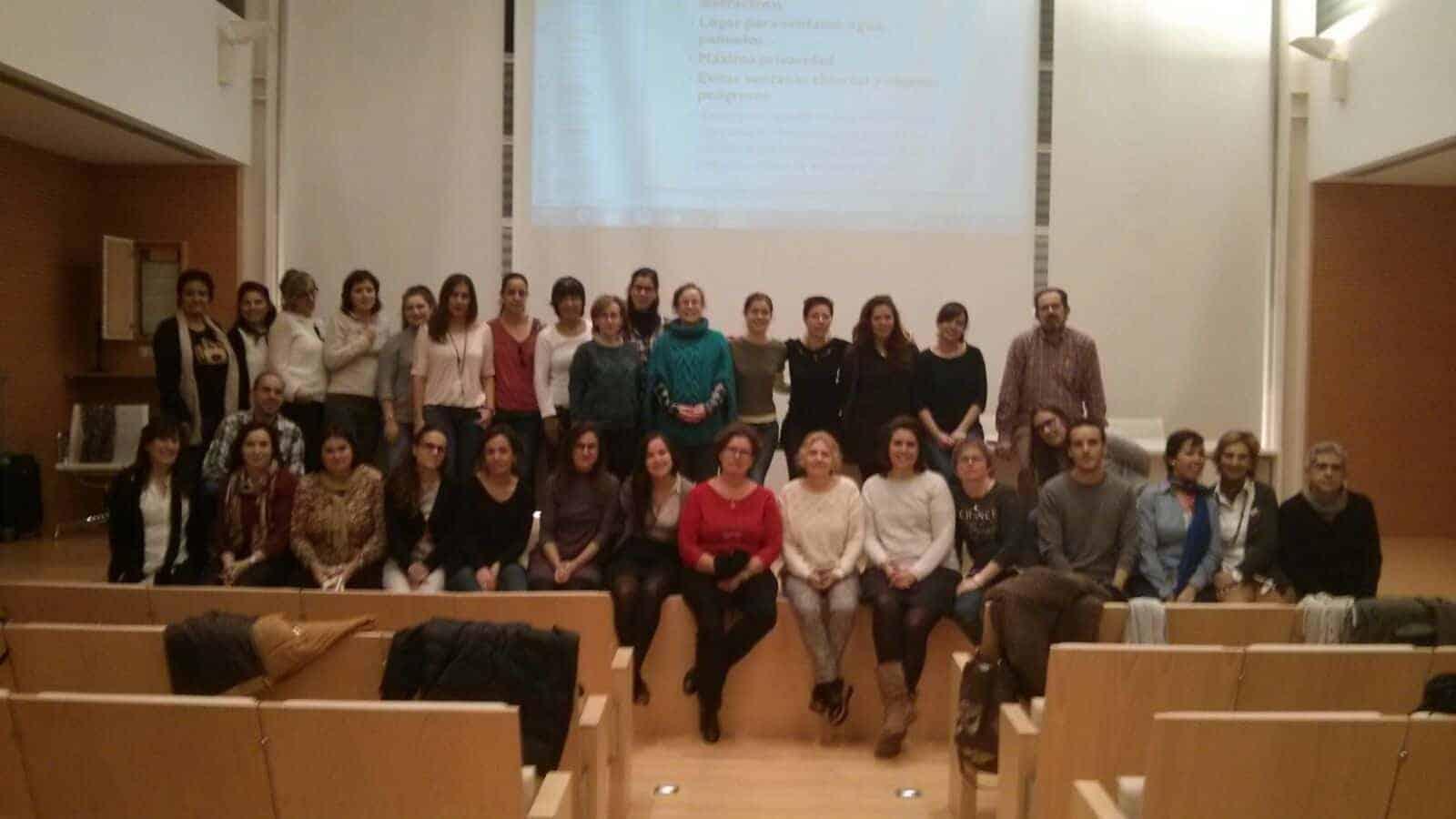 Curso Duelo Trabajadores Sociales Palencia Dori Pecharroman